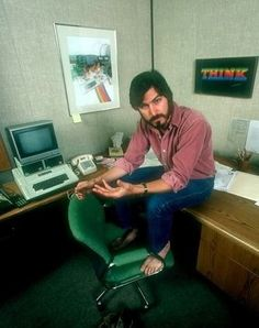 30 Fascinating Photo 30 Fascinating Photographs of a Young Steve Jobs in the and vintage everyday Steve Jobs Apple, Steve Jobs Photo, All About Steve, Moby Dick, Job Pictures, Apple Picture, Steve Wozniak, Ap World History, People