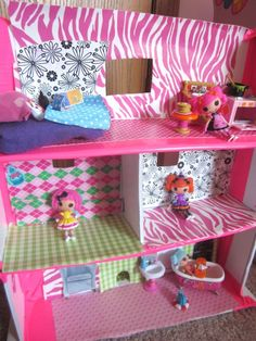 My Darling Daughter Would Lala Love This Lalaloopsy Doll House! Adorable! |  Kids Stuff | Pinterest | Lalaloopsy, Doll Houses And Dolls