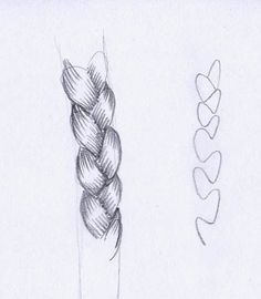 Braid braided plaited hair