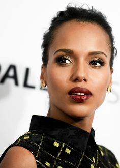 celebritiesofcolor:Kerry Washington attends the 'Scandal' event at the 32nd annual PaleyFest at Dolby Theatre on March 8, 2015 in Hollywood, California.