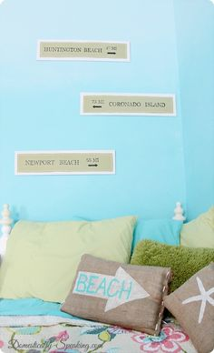 Surfer Girl Room Inspiration