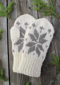 Knitted Gloves, Knitting Socks, Drops Design, Hand Warmers, Mittens, Autumn Fashion, Wool, Crochet, Crafts