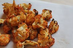 Diary of a Fit Mommy: Garlic Parmesan Cauliflower Poppers