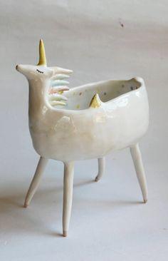 Sequin the unicorn - coceramics studio