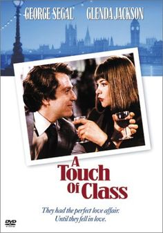 A Touch of Class George Segal, Glenda Jackson. A funny love story that zips right along. Nothing mushy here.in fact, their fight scene is the funniest part. Funny Love Story, The Funny, Rent Movies, Good Movies, Greatest Movies, Glenda Jackson, George Segal, Watch Free Movies Online, Video On Demand