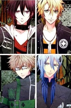 Shin, Toma, Kento and Ikki...the Amnesia bishies!;) Brief but awesome show.