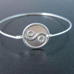 Yin Yang Bracelet #jewelry #accessories #silver