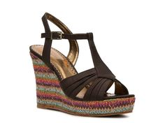 Love the multi color wedge