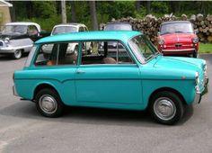 1968 Autobianchi Panoramica - Perhaps the most adorable station wagon ever...