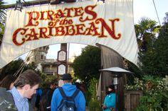 Disneyland - Adventureland - Pirates of the Caribbean