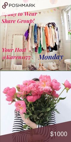 6/19 🐚 Monday🐚Sign up🚨We close @5PM eastern Welcome to 👗Ready to Wear share Group! 👗⭐️Rules are Simple, share 5 Available Listings from everybody on the list. ⭐️ Sign in with you @username ⭐Can Share Anytime 💐 Sign out When you are done, Sign up will Close at 5PM⭐️ ‼️Very Important‼️ ‼️PLEASE PLAY FAIR‼️Share all on the list, those WHO DONT, WILL NOT, be able to Join Again and will be 🚫Blocked🚫 ‼️We all are here want the same thing,  Let's Help each other out 😃🎉  ✨Lets Make some…