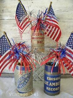 Knick of Time Fourth Of July Decor, 4th Of July Decorations, 4th Of July Party, July 4th, 4th Of July Wreath, Happy Birthday America, Patriotic Party, Patriotic Crafts, July Crafts