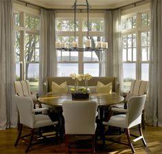 25 Kitchen Window Seat Ideas | Kitchen window seats, College dorm ...