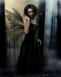Goth Gothic fairy faery fairies fantasy