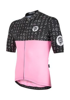 All Day Letter Jersey Black / Pink