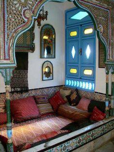 Vintage Tunisian Bedroom <3