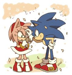 Sonic: I never did that  Amy: Yes you did  Maddie: wove is in the air