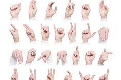Il linguaggio dei segni
