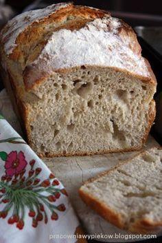 sprawdzony, dla mnie idealny przepis :) Pan Bread, Bread Baking, Bread Recipes, Cooking Recipes, Polish Recipes, Healthy Dishes, My Favorite Food, Food To Make, Bakery