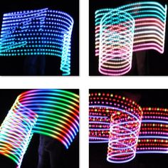 Original Led Hair 2017 Fashion Braid Full Color Rock Luminous Headdress Rgb Glowing Party Dj Robot Hair Props Accessories To Win A High Admiration Women's Accessories