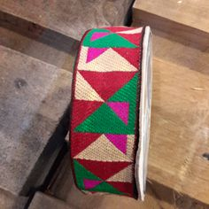 Ethnic ribbon of 30mm width customize your bag