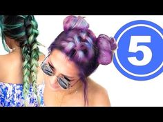 ★ 5 CUTE AF BACK TO SCHOOL HAIRSTYLES   GIRLS HAIRSTYLES for Medium Long Hair - YouTube