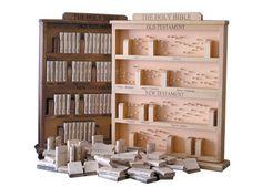 Bible Bookcase Puzzle