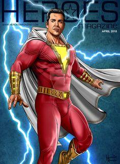 Zachary Levi as SHAZAM! Captain Marvel Shazam, Mary Marvel, Original Captain Marvel, Marvel Dc Comics, Dc Comics Superheroes, Dc Comics Characters, Marvel Vs, Marvel Fight, Shazam Movie
