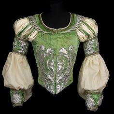 Doublet for the role of Romeo, Act II, <I>Romeo and Juliet</I>, 1977. Costume by Ezio Frigerio.<br />© CNCS / Photo Pascal Francois. (Click image for larger version)
