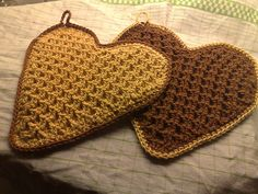 Ravelry: Malla's Waffle Hearts / Malla's vaffel-hjerter pattern by Mailinn