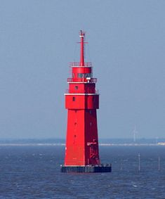 Robbenplate Oberfeuer Lighthouse in Germany :  photo copyright Malte Werning;