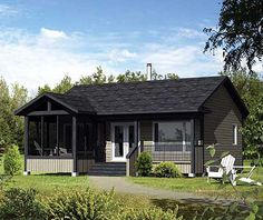 Plan W80737PM: Narrow Lot, Metric, Vacation, Canadian, Mountain House Plans & Home Designs