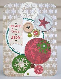 {peace, love, joy} card by jenrn at Studio Calico