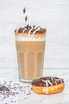 Farsangi fánk latte