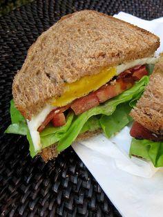 B.E.L.T. (Bacon, Egg, Lettuce, Tomato) Sandwich