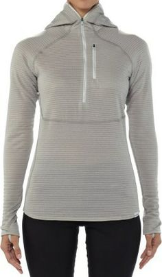 Patagonia Capilene 4 Expedition Weight Quarter-Zip Hoodie - Womens $119. My favorite piece of hiking clothing. It's awesome.