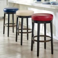 Raise the bar with our huge variety of barstools. Shop bar and counter stools in a ton of great styles. Swivel and backless stools in leather, wood and metal. Oak Bar Stools, Swivel Bar Stools, Garden Deco, Affordable Furniture, Cheap Furniture, Outdoor Furniture, Boat Furniture, Furniture Movers, Bar Counter