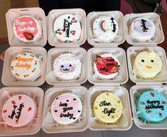 Pretty Birthday Cakes, Pretty Cakes, Beautiful Cakes, Mini Cakes, Cupcake Cakes, Simple Cake Designs, Pastel Cakes, Cute Baking, Cake Decorating Designs