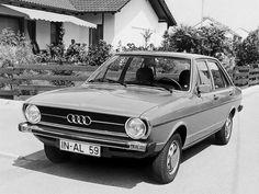 The Oldie But Goodie 1972 Audi 80 LS