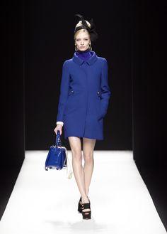 Moschino Fall/Winter 2012-2013 - coat, sweater, bag