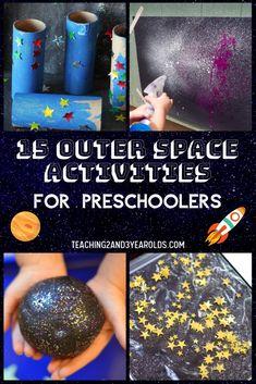 15 Outer Space Activities for Preschoolers