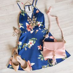 Just A Feeling Floral Dress