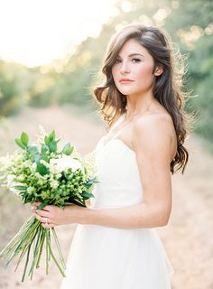 Earthy and Organic Bridal Portraits | Lauren Peele Photography                                                                                                                                                                                 More