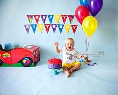 First Birthday Celebrations – Wiggles Cake Smash Wiggles Birthday, Wiggles Party, Boy First Birthday, 1st Boy Birthday, Boy Birthday Parties, Birthday Cakes, Birthday Ideas, Wiggles Cake, 1st Birthday Photoshoot