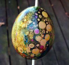 Hand Painted Egg Ornament 1 by MandarinMoon on DeviantArt