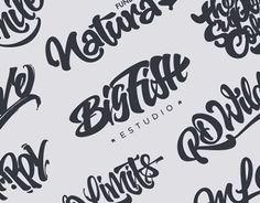Consultez ce projet @Behance: « Brushpen Lettering set 04 » https://www.behance.net/gallery/20319713/Brushpen-Lettering-set-04