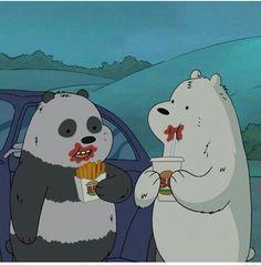 Cartoon Icons, Cartoon Memes, Cartoons, Disney Phone Wallpaper, Cellphone Wallpaper, Cute Couple Cartoon, Cute Cartoon, We Bare Bears Wallpapers, Animated Icons