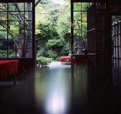 Tea house at Kyoto, Japan