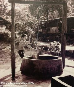 well at old tampines 1970s