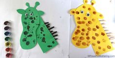 Animal Spots - Fingerprint Paint Fun for Toddlers